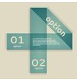 Option Banner vector image