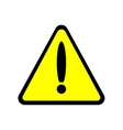 Sign caution 2205 vector image