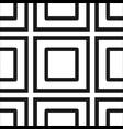 abstract art deco black geometric ornamental vector image vector image