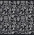 finance seamless pattern vector image vector image