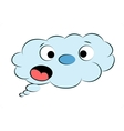 Fuuny Cloud vector image vector image