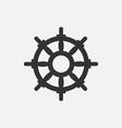 handwheel icon vector image vector image