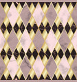 marble and gold luxury geometric seamless pattern vector image vector image