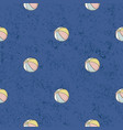 seamless pattern beach balls background vector image vector image