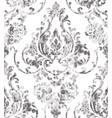 vintage rococo texture pattern floral vector image vector image