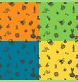 autumn seamless pattern vector image