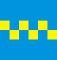 battenburg police marking vector image