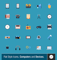 Device Icons 2 vector image vector image