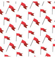 flag party decoration event background vector image
