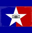 san antonio city flag vector image
