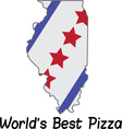 Worlds Best Pizza vector image vector image