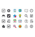 check signs checkbox confirm icons