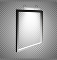 a frame with light weighing on the wall frame for vector image vector image