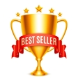 Best Seller Award vector image