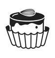 choco bonbon icon simple style vector image