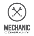 Generic Wrench Logo vector image vector image