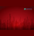 abstract of luxury red gradient with black vector image