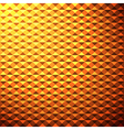 creative yellow glow pattern background vector image