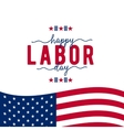 Happy Labor day USA vector image