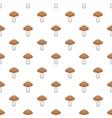Mushroom pattern cartoon style vector image vector image