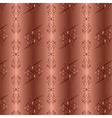 ornamental golden background with seamless pattern vector image