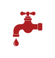 Water tap icon vector image vector image