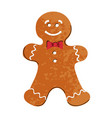 colorful christmas cookies vector image