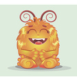 Good red furry monsters vector image vector image