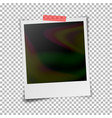 Instant photo frame photorealistic