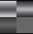 Metal Texture Background Set vector image