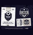 modern professional sports design poster vector image vector image