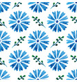 seamless pattern with beautiful watercolor vector image vector image