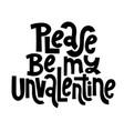 anti valentine quote vector image vector image