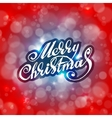 Merry Christmas Holidays card design vector image vector image