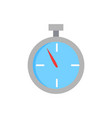 sport stopwatch isolated cartoon icon vector image