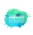 watercolor blob text box background isolated vector image