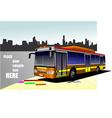 al 0613 bus 02 vector image vector image
