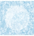 Blue Light Polygonal Mosaic Background vector image vector image