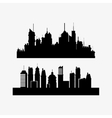 city skyline image vector image