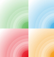 color circle background vector image vector image