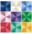 colorful metallic gradient abstract backgrounds vector image