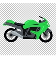 Cool Motorcycle Isolated vector image