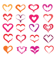 Hearts collection vector | Price: 1 Credit (USD $1)