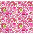 Pastry hand drawn seamless pattern Doodle vector image vector image