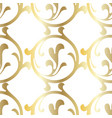 retro pattern antique acanthus seamless pattern vector image vector image