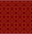 seamless abstract vintage dark red pattern vector image vector image