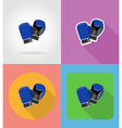 sport flat icons 10 vector image