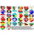 World flag vector image