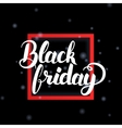 Black Friday in Frame vector image vector image