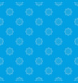 cold pattern seamless blue vector image vector image